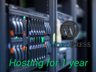 Provide shared unlimited hosting and Wordpress blog for 1 year