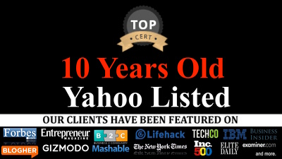 Provide A Guest Post on Pr4 Technology & Game Website 10 Years Old, Yahoo Listed