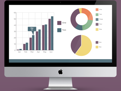 Create beautiful looking charts for your presentation