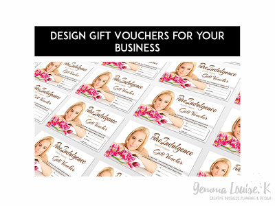 Design Gift Vouchers for your businesses