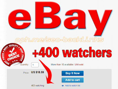 Increase your ebay sales & rank on ebay SEARCH