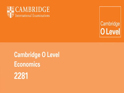 I can teach you O level Economics (2281) Online on Skype for $10 per Hour