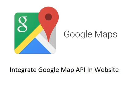 Integrate Google Map API In Website