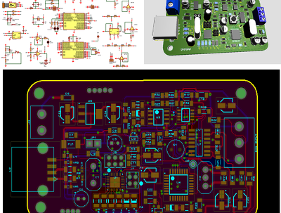 Design PCB and Schematic
