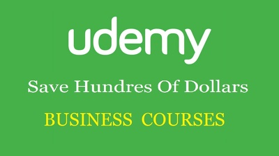Give you 50 Business Udemy Paid Courses For Free