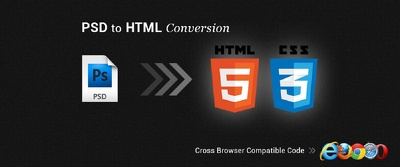 Do Conversion of PSD to HTML5 + Fully Responsive Web Pages