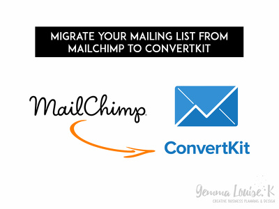 Migrate your mailing list from Mailchimp to ConvertKit