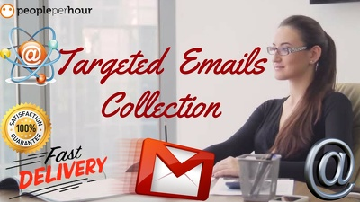 Help you to collect up-to 20k tageted bulk emails as you need