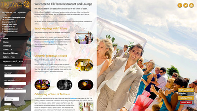 Build a Restaurant website - responsive, SEO friendly, fully secured & fast loading