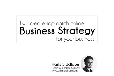 Create a online digital strategy for your business