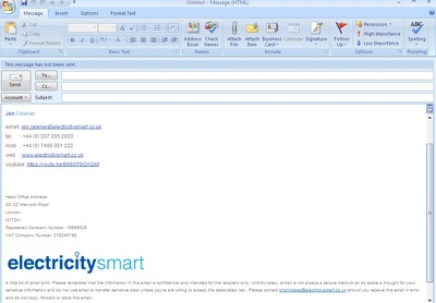 Creat email Signature and multi Account--Outlook