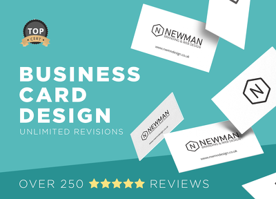 Design your business card with unlimited revisions