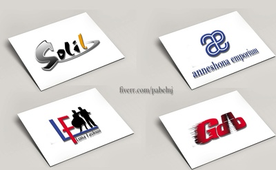 3 logo design concepts in 24 hours