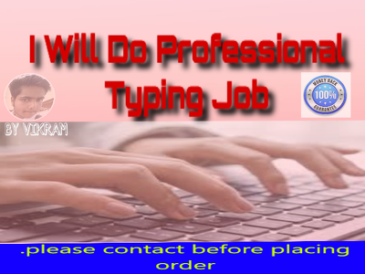 20 pages type  Do Professional Typing Job