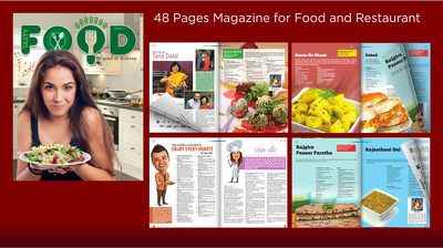 Design and layout of Magazine, Brochure and Books etc.