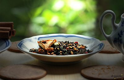 Write creative product descriptions for tea, herbs, spices and chocolate shops