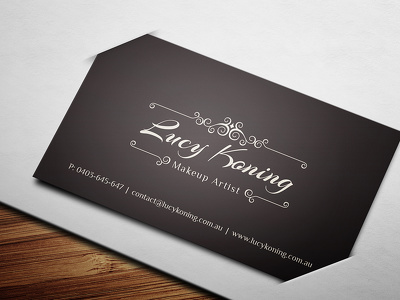 Design a business card with unlimited revisions + editable source files