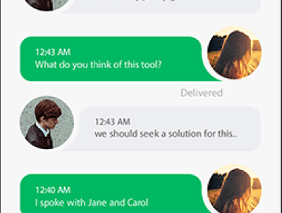 Make Chat app in iOS and/or Android