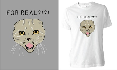 Create an awesome unique t-shirt design