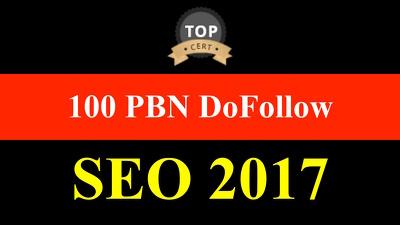 100 HQ PBN Do-Follow Backlinks : SEO Link Building