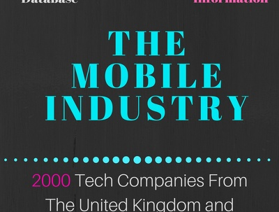 Supply a Database that Contains 2000 Current Mobile Tech Companies via Google Sheets