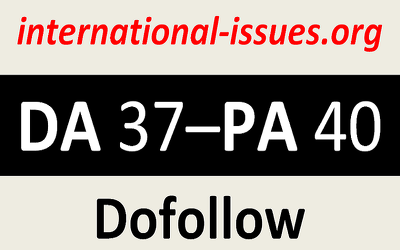 Write and guest post on International Issues with Dofollow backlink