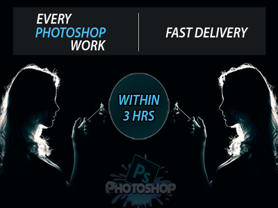 Do professional photoshop editing