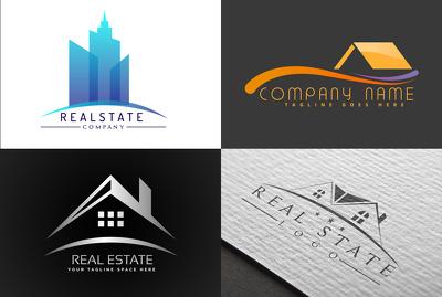Do modern creative luxury minimalist real estate logo design