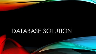 Be your one stop solution for database