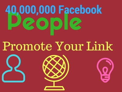 Promote Or Advertise Your Link To 40,000,000 People