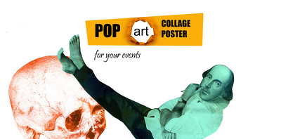 Create pop art collage posters for your events