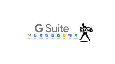 help you to setup G Suite account for Email,Docs,Drive