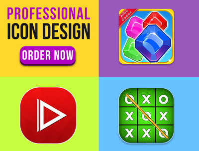 Design iPhone or Android app icon professionally