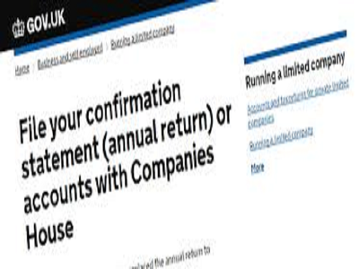 Prepare and File Confirmation Statement to Companies House