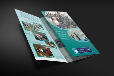 Design a creative and unique double-sided leaflet in just 24 hours for you.