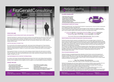 I will design your brochure (print or PDF version)