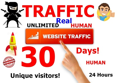 Drive Unlimited Traffic To Your Website in 30 Days