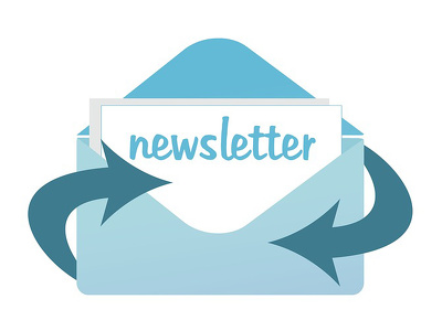 Set up a newsletter template using your existing branding on your preferred platform