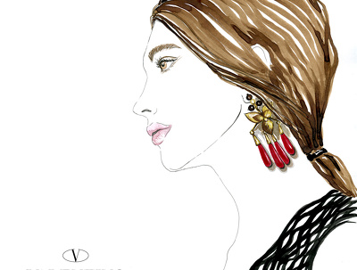 Create a fashion illustration suitable for your specific needs