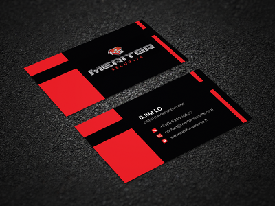 Design an unique and stunning business card with unlimited revision