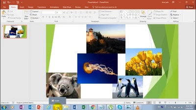 Convert 10 High Resolution photos from your powerpoint presentation in 1 hour