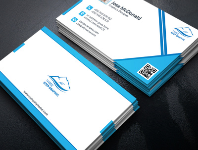 Eye catchy Personal & Corporate Business Card Design.