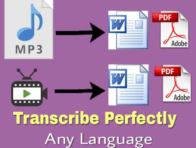 Transcribe up-to 30 minutes of any language from video or audio