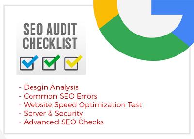 Do Website Audit, SEO Analysis & On Page Optimisation Report.