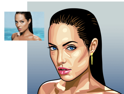 I Will TRACE Your PHOTO Into High Resolution VECTOR Style
