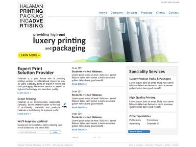 Design creative website in minimum price