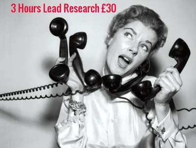 Research Your Lead Lists for 4 Hours