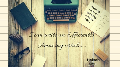 Write an Efficient Article of 800-1000 words
