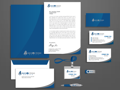 Design Your Stationary Package with Unlimited Revision 15+ items.