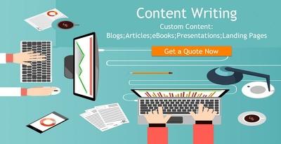 Write website content 2500 words unique plagrism copyspace passed